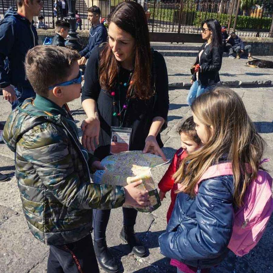 Palermo tour per bambini con guida