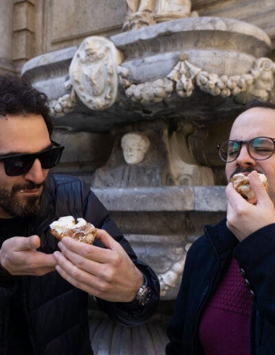 tour palermo cannolo siciliano
